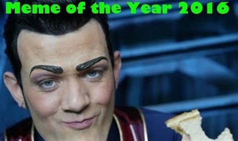 Meme Of The Year - why robbie rotten s we are number one was named meme of