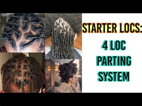 grid pattern dreads know this before you start locs 4 parting systems