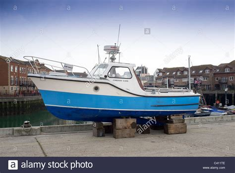 fishing boat for sale dorset used boat sale stock photos used boat sale stock images