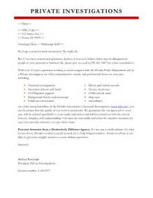 Insurance Company Investigator Cover Letter by Sle Marketing Letter
