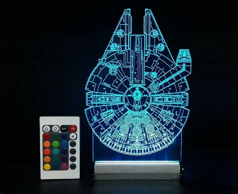 wars lights we d join the empire for these acrylic wars desk