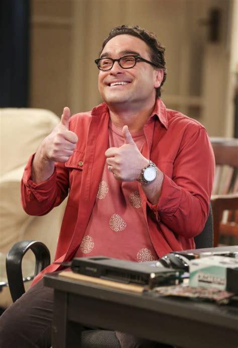 bid up leonard gives a thumbs up the big theory season 10