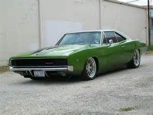 68 charger can stay in the driveway