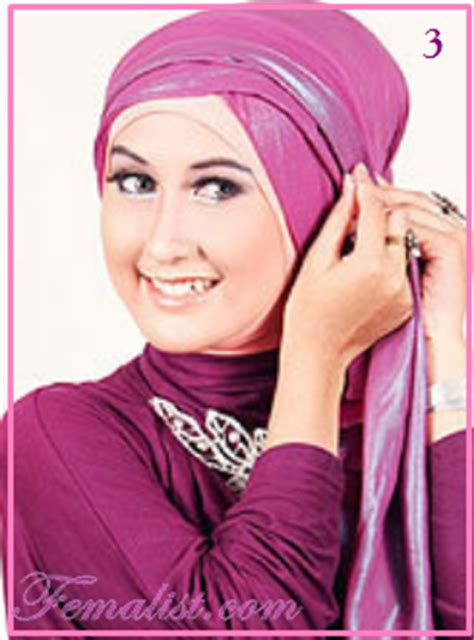 model jilbab ke pesta fairytale tutorial hijab pasmina glamour