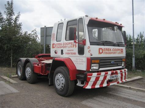 ford cargo tractor unit for sale 1989 iveco ford cargo 6x2 tractor unit reg no g914 pga