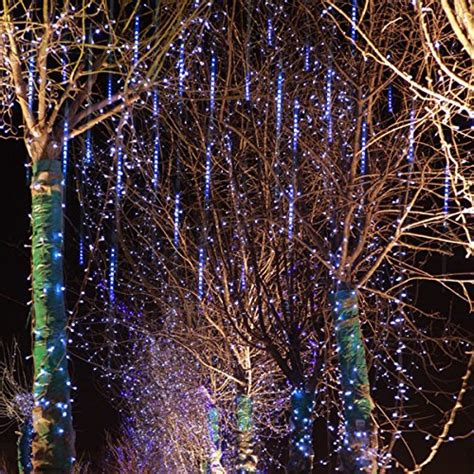 cascading led icicle lights lights meteor shower led cascading icicle lights