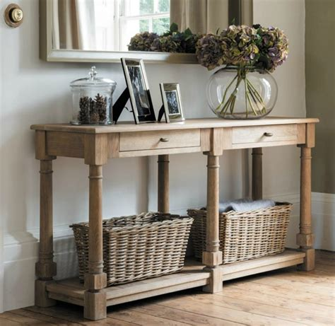 creating  soulful hallway   console table