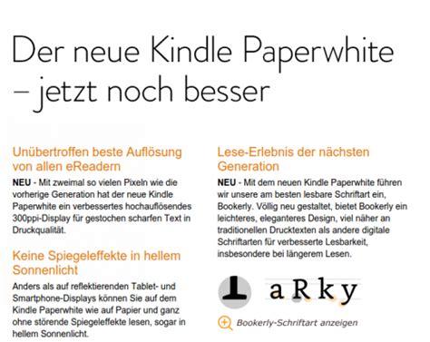 wann kommt der neue kindle paperwhite neuer kindle paperwhite mit besserem display vorgestellt
