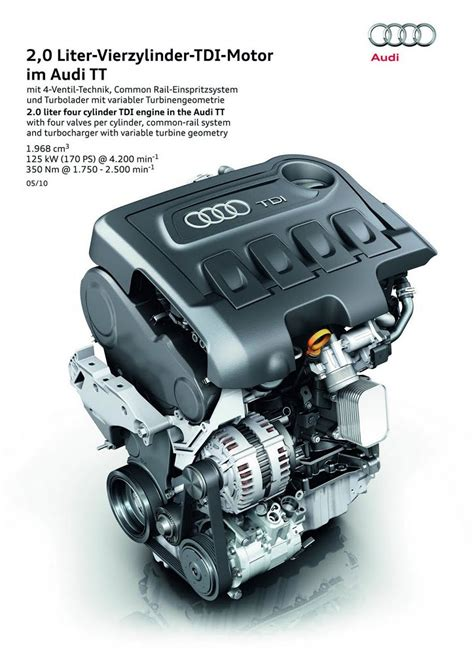 Audi 2 0 Tdi Engine Problems by 170 Hp Tdi Engine For The Audi Tt Coupe And Roadster