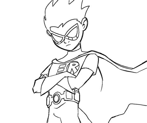 Teen Titans Coloring Pages Az Coloring Pages Robin Coloring Pages