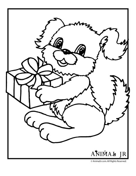 happy birthday puppy coloring pages birthday puppy printable coloring pages animal jr happy