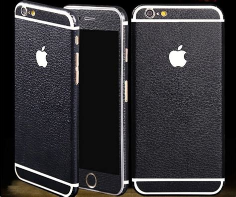 Cover360 Iphone 6 6s 6g 4 7inci Free Tempered luxurious luxury breathing leather front back