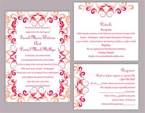 blank wedding invitations templates wblqual com blank red wedding invitation template orderecigsjuice info