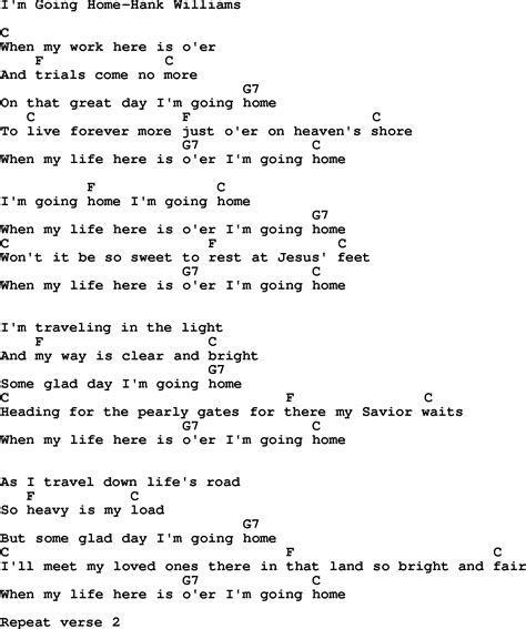 lyrics going home