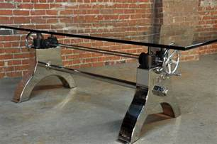 industrie tisch hure crank table vintage industrial furniture
