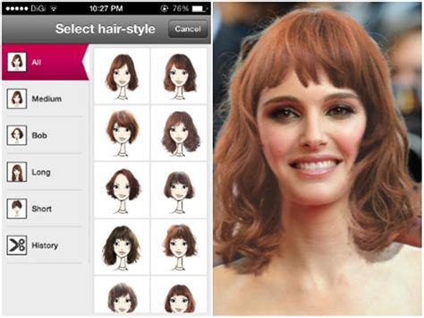 Change Hairstyle App by Hair Color Change App For Iphone Newhairstylesformen2014