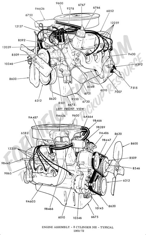 1990 ford 302 engine diagram wiring diagrams