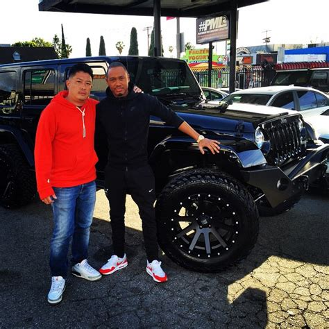 terrence j car 106 park s host terrence j gets his jeep wrangler