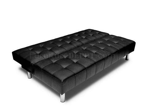 bonded leather sleeper sofa black or ivory bonded leather sleeper sofa