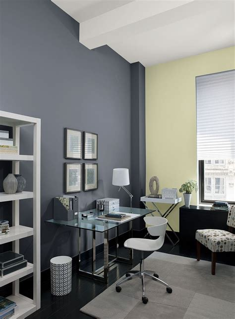 office accent wall home office wall color eclipse accent wall color