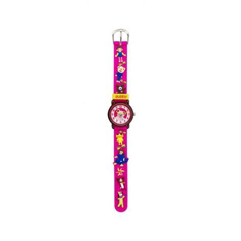 Jam Tangan Kt linkgraphix kt13 buddy jam tangan anak pink elevenia