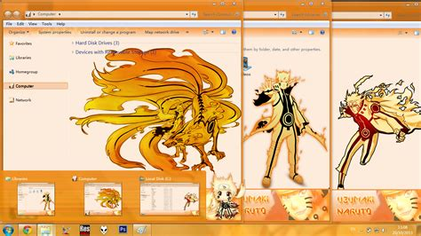 download themes naruto untuk windows 7 download theme win7 naruto bijju mode bluebird art