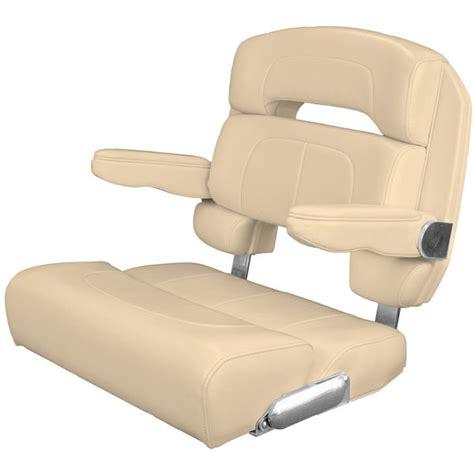 helm bench seat taco marine 28 quot deluxe capri helm chair vanilla west marine
