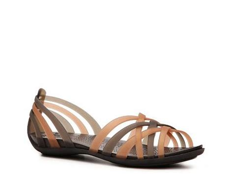 croc jelly sandals crocs huarache jelly sandal dsw