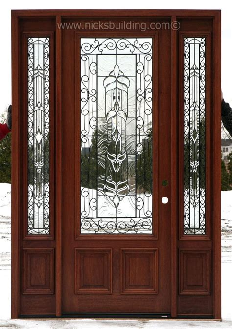 Exterior Doors Sidelights 13 Best Front Doors With Sidelights Images On Pinterest Entrance Doors Front Doors And Front