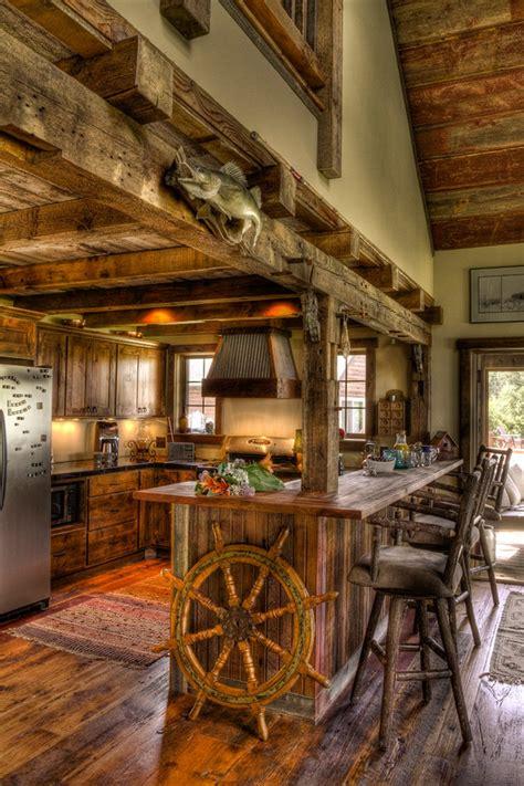 Cabin Pub by A Wooden Fantastic Farmhouse In Minneapolis