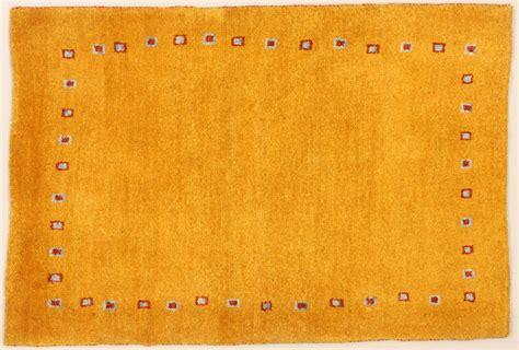 collection gabbeh teppich gelb 76044 teppich - Teppich Gelb