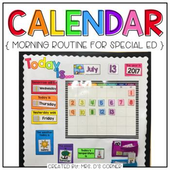 classroom layout interactive interactive calendar and calendar mat for the special
