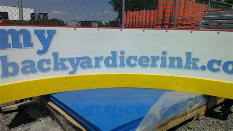 backyard hockey rink boards about us welcome to mybackyardicerink