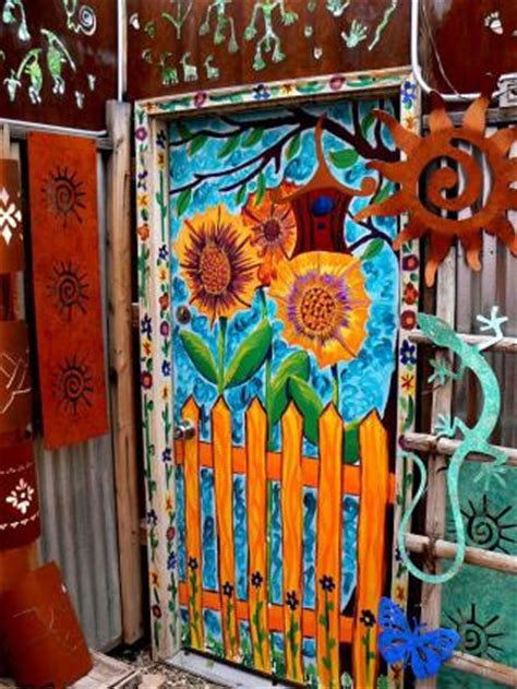 cool ways  paint doors lovetoknow