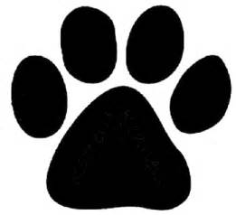 dog paws clipart