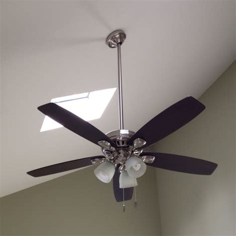 highbury ceiling fan highbury ceiling fan with 3ft downrod installed