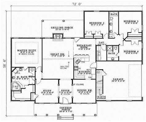 Country Style House Plans Plan 12 150 150 Sq Meter House Plans