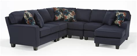 5 piece sectional sofa five piece customizable sectional sofa with beveled arms