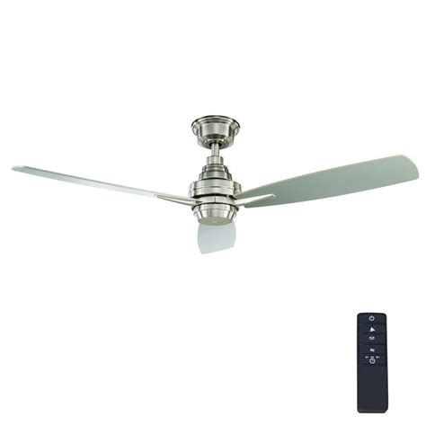 mercer 52 ceiling fan sahara fans bennington 52 in brushed nickel ceiling fan
