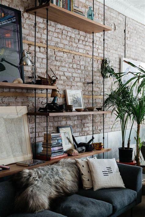13 creative ideas for decorating with an exposed brick