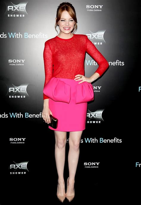 emma stone friends with benefits emma stone picture 53 new york premiere of friends with
