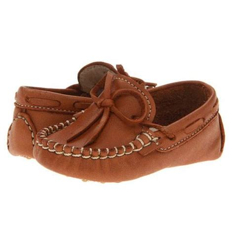 baby leather loafers smocked appliqued boys clothes baby toddler clothing
