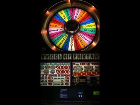 wheel  fortune  big win high limit slots  play