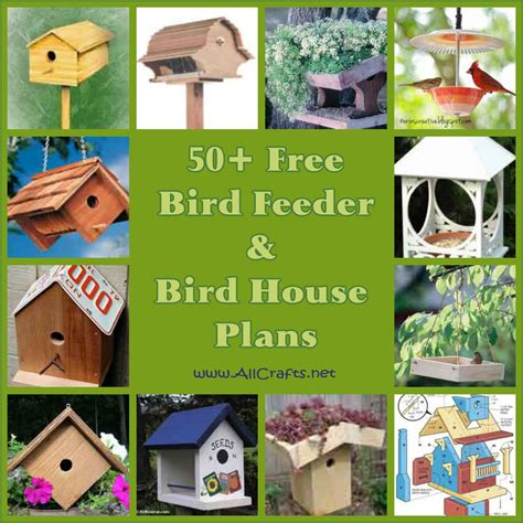 bird house feeder plans 50 free bird house and bird feeder plans allcrafts free crafts update