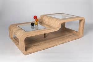 table basse design en bois ch 234 ne clair sonoma eliane