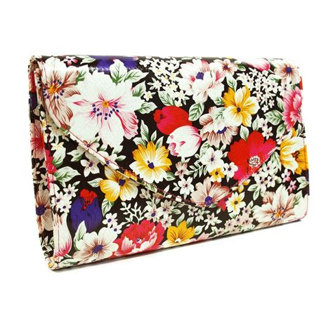 Ollie Nic Multi Coloured Duffel Bag by Ollie Nic Floral Clutch Lyst