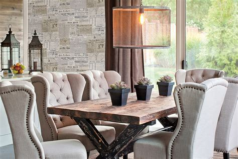 Wallpaper Dining Room Ideas Trendy Ideas For Selecting Your Dining Room Wallpaper Designinyou