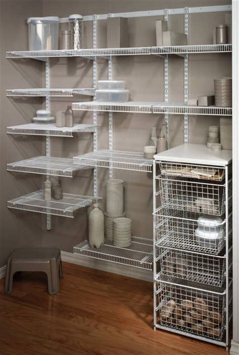 Wire Pantry Shelving Systems Organize Your Pantry With Harkraft S Selection Of