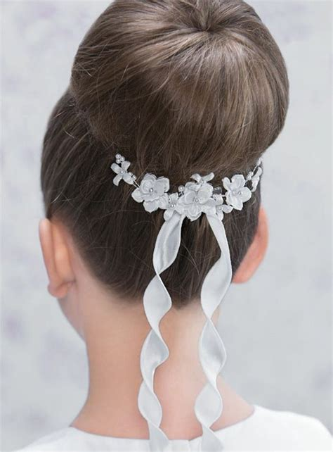 First Communion Hairstyles To Do It Yourself: Festive Children Hairstyles For Girls ? Fresh