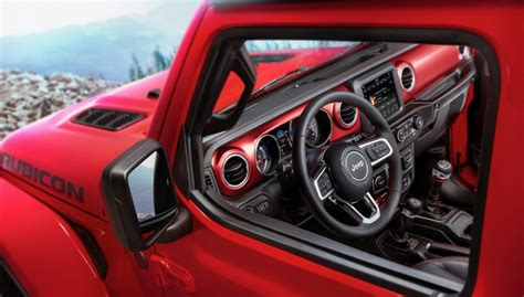 new jeep wrangler interior 2018 jeep wrangler interior photos released the torque